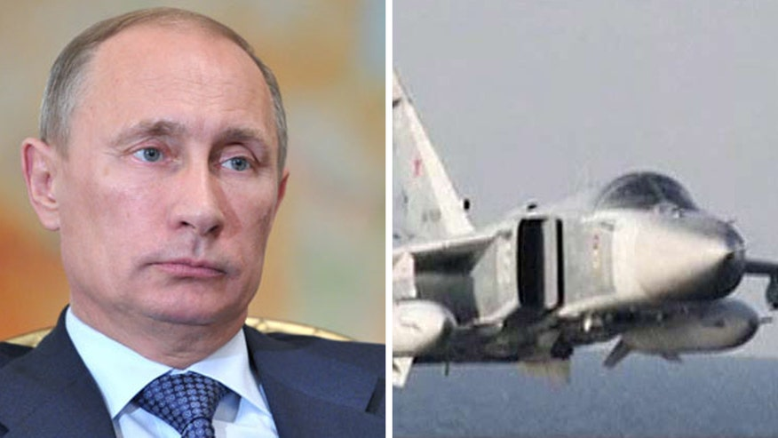 On 'America's Newsroom,' Lt. Col. Ralph Peters reacts to Russian jets buzzing an American destroyer in the Baltic Sea