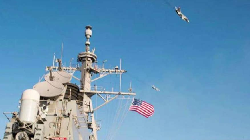 US officials blast stunt as 'unsafe and unprofessional'
