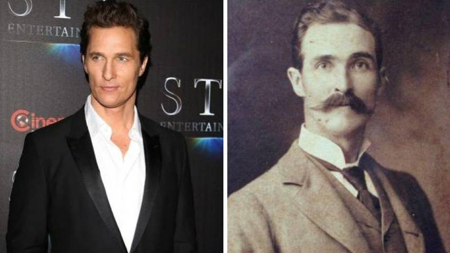 Tennessee man sees spot-on resemblance between his great-great-grandfather and the Hollywood star