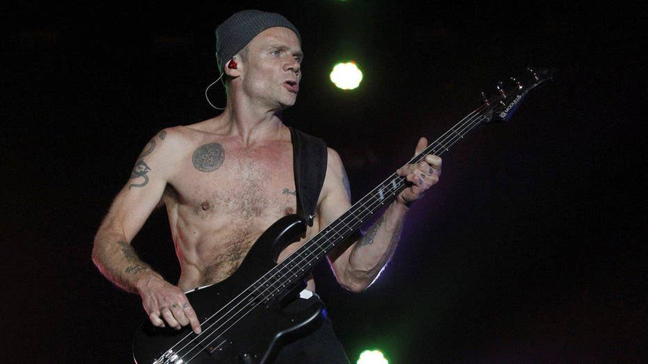 Flea: My national anthem was AWESOME