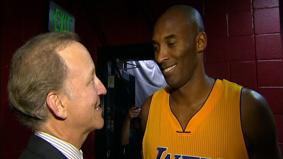 No second thoughts? Kobe comfortable with decision to retire