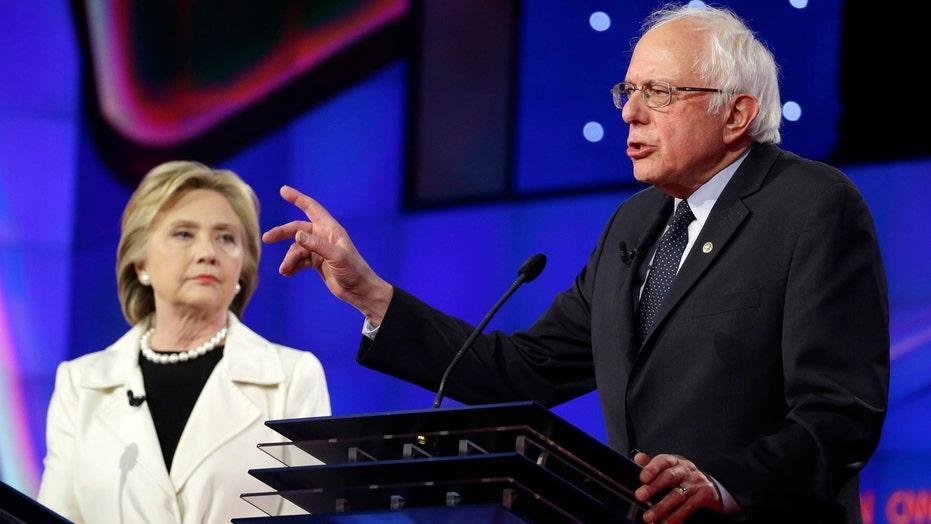Clinton, Sanders clash in heated debate ahead of NY primary