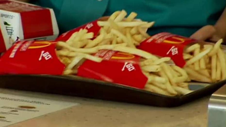 McDonald's considering all you can eat French fries?