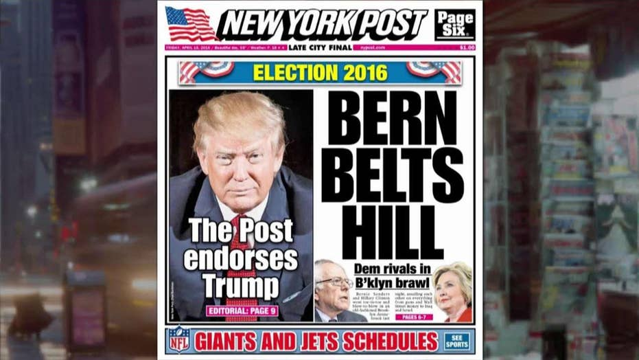 New York Post endorses Trump for president