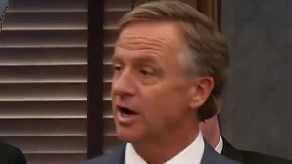 Tennessee governor vetoes bill to make Bible the state book