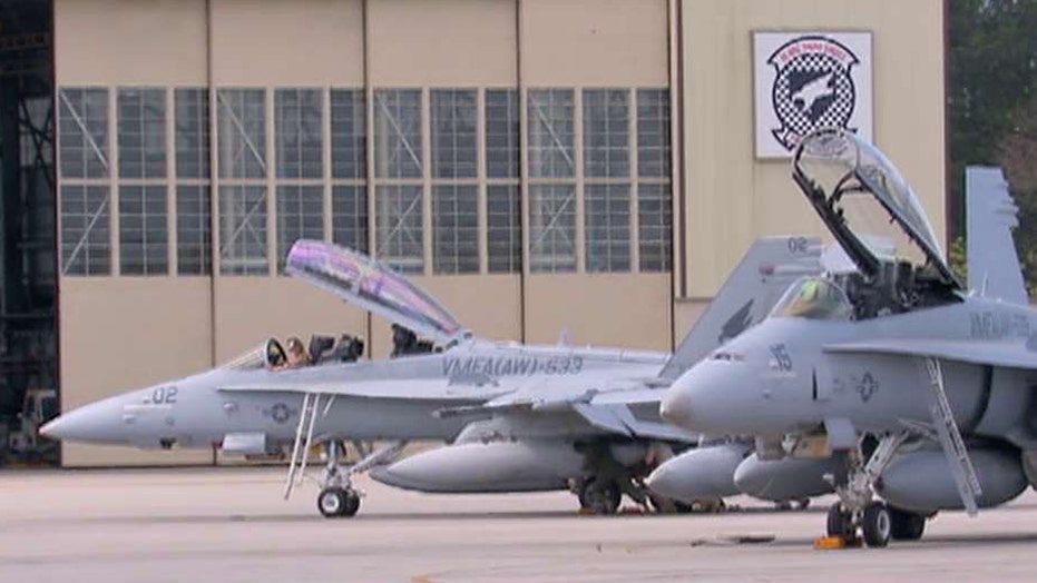 Majority of Marine Corps jets grounded due to budget cuts