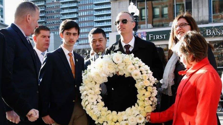 Boston marks three years since deadly marathon bombings
