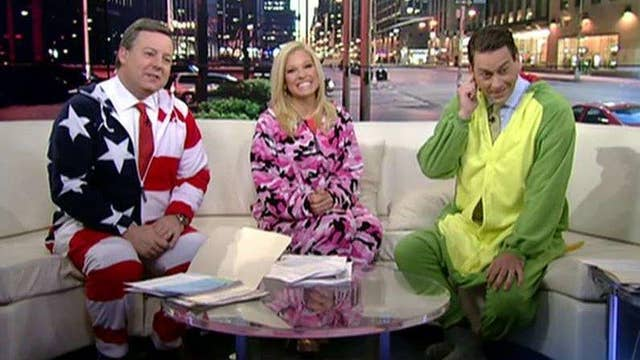 National Wear Your Pajamas to Work Day: Are these pajamas?