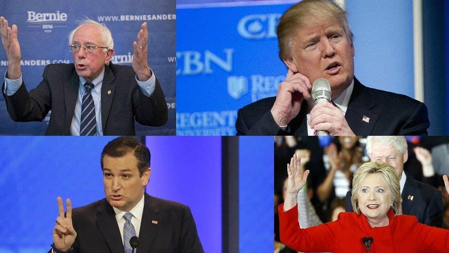 The 'Journal Editorial Report' panel breaks down the latest in the delegate battle