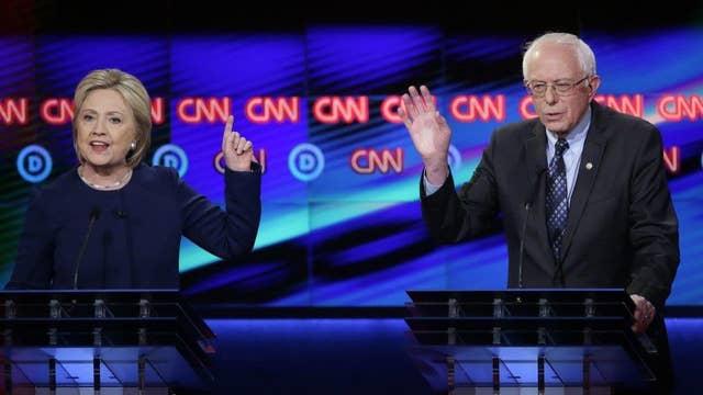 Hillary, Bernie in bitter slugfest