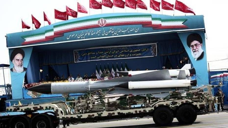 Iran shows off new missile defense system at parade