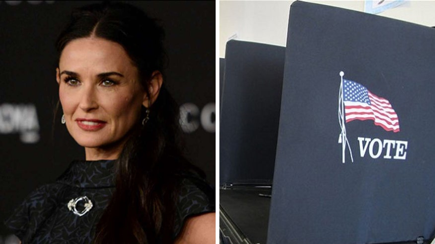 Report: Thousands of voters, including actresses Demi Moore and Emma Stone, registered for the wrong party in California because of confusing wording