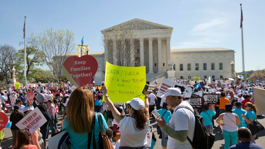 Supreme Court appears split over Obama immigration actions