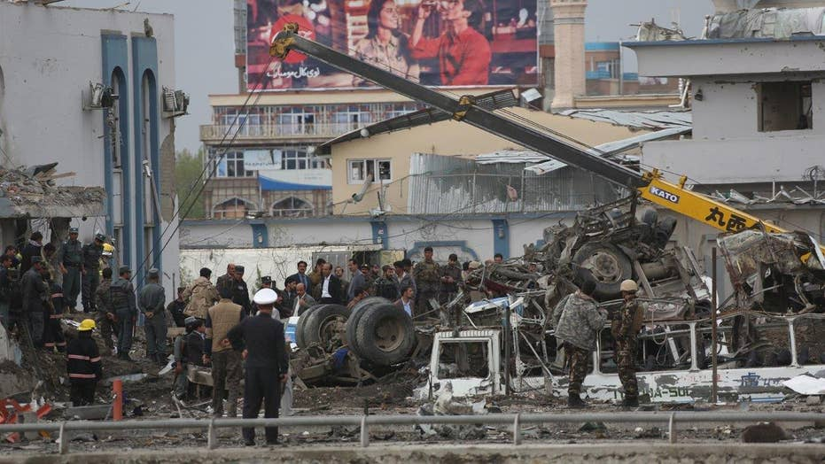 The Taliban claims responsibility for Kabul suicide bombing
