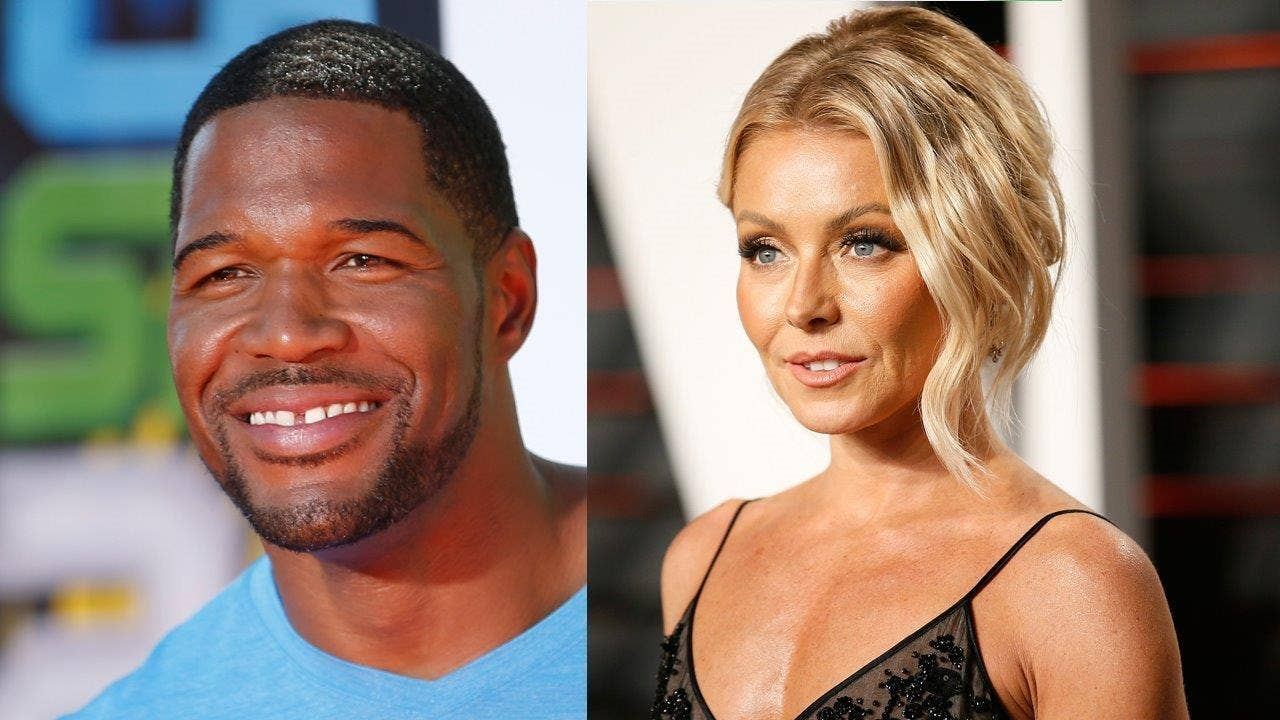 Who does michael strahan date in Perth