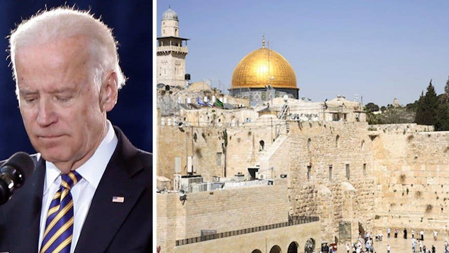 Vice President Biden criticized the Israeli government hours after a bus explosion in Jerusalem; reaction on 'Outnumbered'