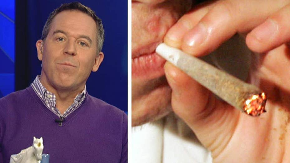 Gutfeld: Pot's inert, but we've used it to enable our sloth