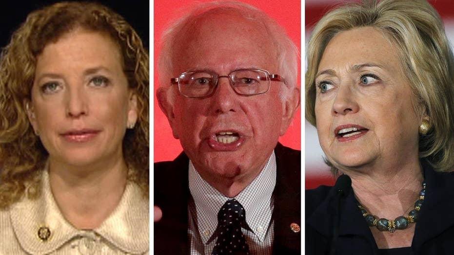 Debbie Wasserman Schultz talks Sanders attacks on Clinton