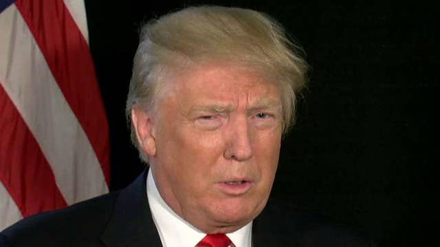 Trump: I will reduce taxes and take on Wall Street