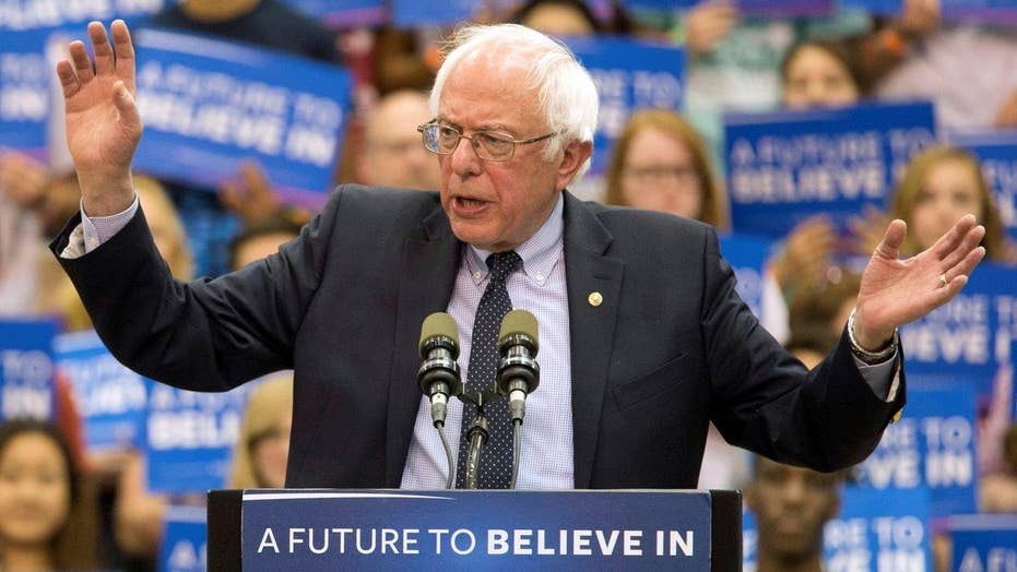 Why Sanders is keeping his voice in the race