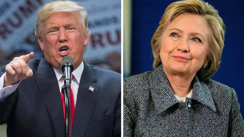 Trump, Clinton hold dueling morning show town halls