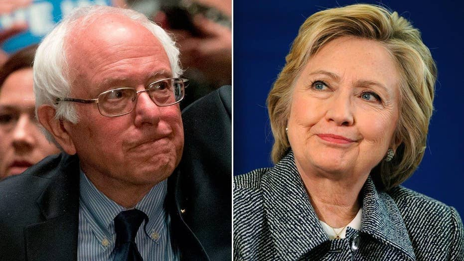 Is Clinton's tone towards Sanders softening?