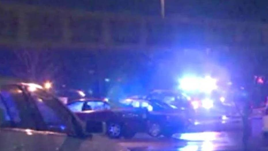 Two wounded after gunman opens fire outside school prom