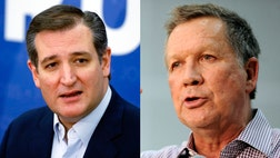 John Kasich and Ted Cruz made the extraordinary announcement late Monday of their intentions to coordinate campaigns in order to deny frontrunner Donald Trump a sweep of important primaries in three states -- but it remains far from clear whether the ambitious strategy will pay off.