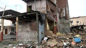 Greta accompanies The Rev. Frank Graham's Samaritan's Purse to earthquake-ravaged country where more than 650 died
