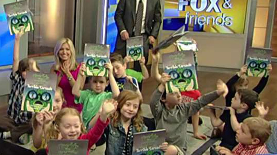'Freddy the Frogcaster' takes on tornadoes in new book