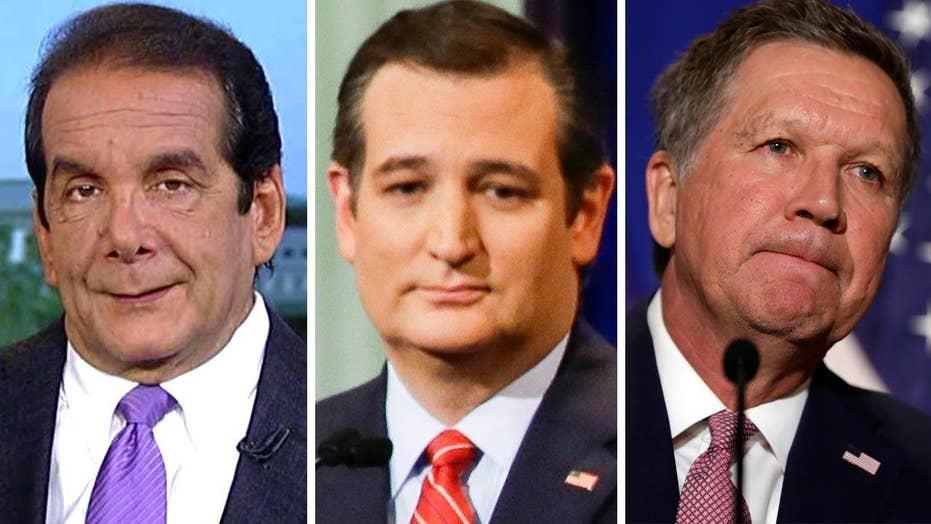 Krauthammer on the Cruz-Kasich alliance