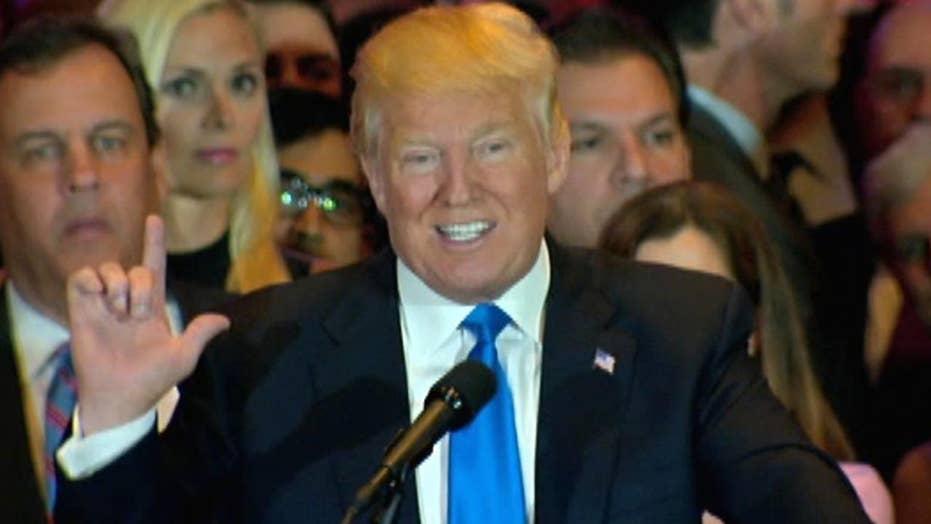 Trump: I consider myself the presumptive nominee