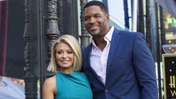 Don't let the door hit you on the way out, Michael Strahan.