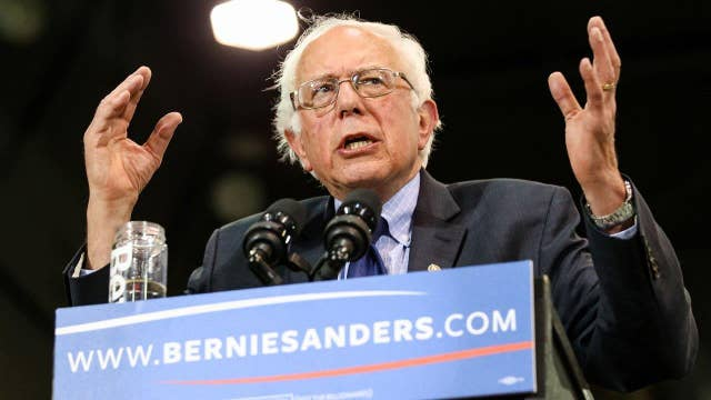 Will Sanders quit or hold on until California?
