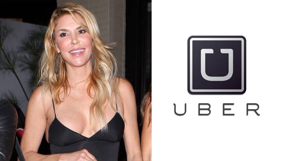 Brandi Glanville dates her Uber driver