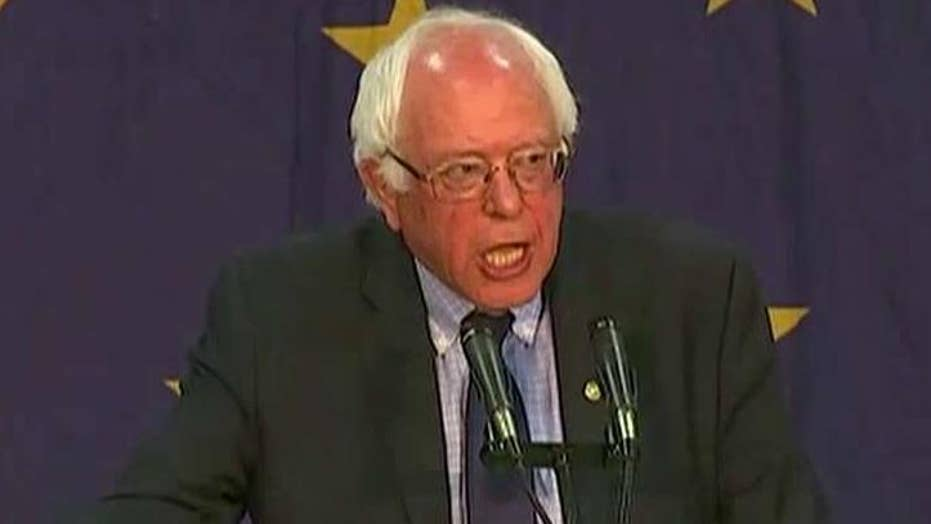Sanders pivots from winning to shaping the Dem platform