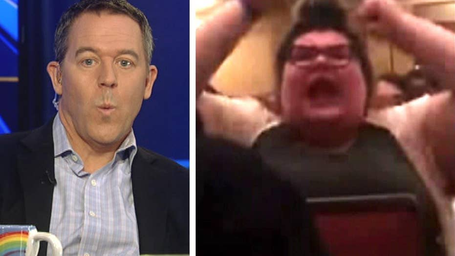 Gutfeld: This is what passes for free speech on campus