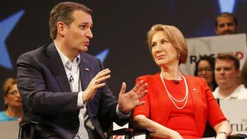Does Carly Fiorina warm up Ted Cruz?
