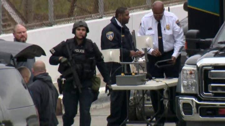 Baltimore Sun reporter on man threatening to bomb TV station