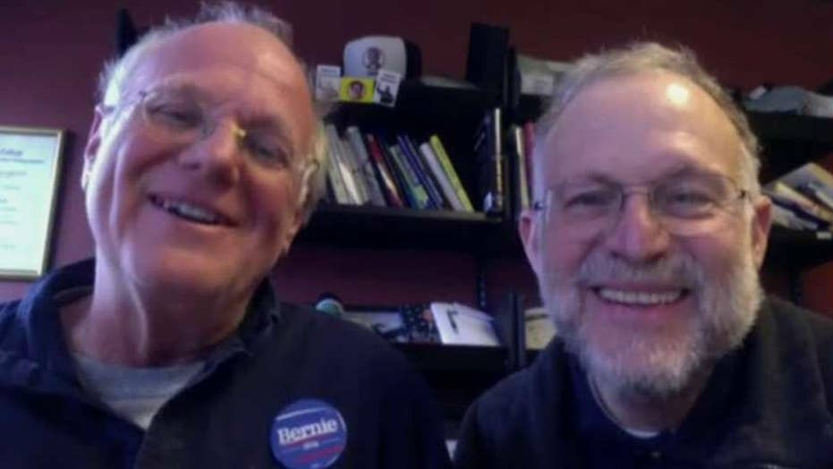 Ben & Jerry's founders on Sanders vowing to stay in race