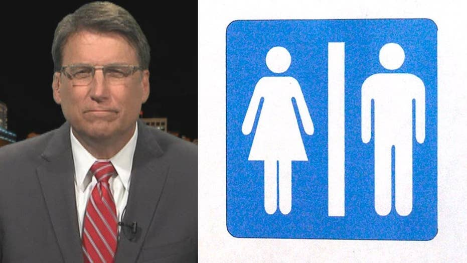 NC governor responds to 'bathroom bill' backlash