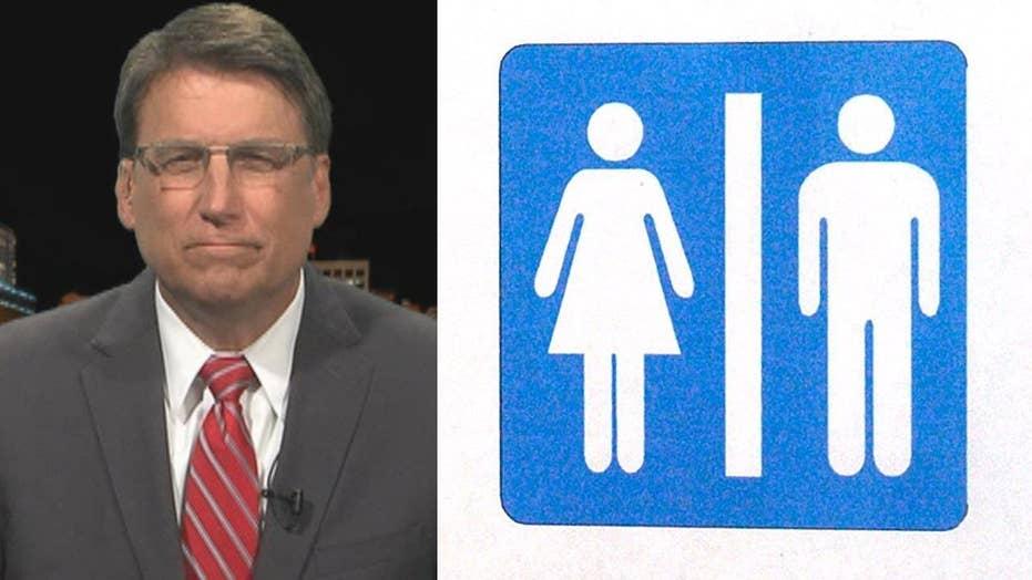 NC governor responds to 'bathroom bill' backlash
