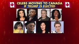Which stars are serious about leaving U.S. if Donald Trump wins presidency?