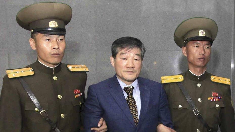 North Korea sentences US citizen to 10 years hard labor