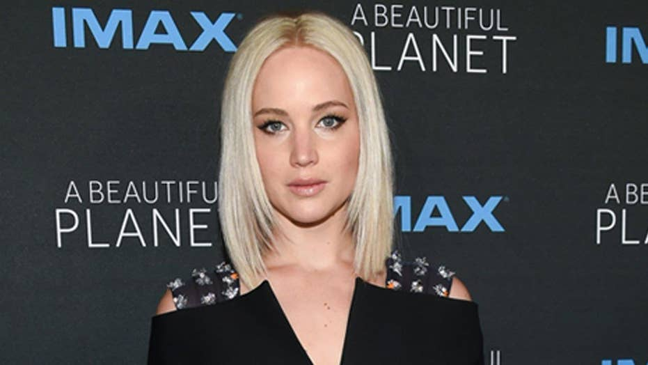 Jennifer Lawrence hasn't 'felt the touch of a man in...'