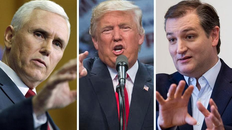 Gov. Pence praises Trump in endorsement of Cruz