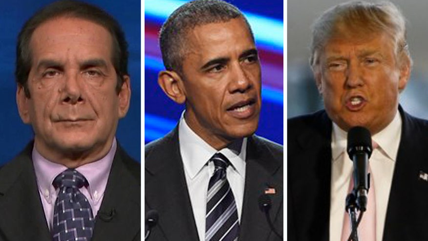 Charles Krauthammer analyzes the how the President and GOP frontrunner market themselves on 'The O'Reilly Factor'