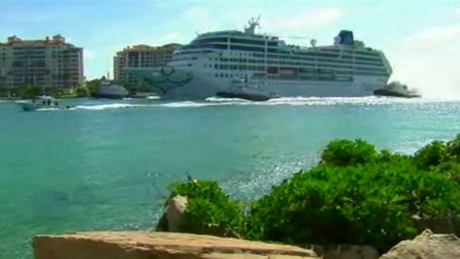 First US cruise ship in decades docks in Havana