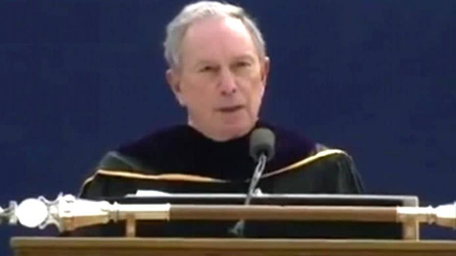 Bloomberg booed for calling campus safe zones 'dangerous'