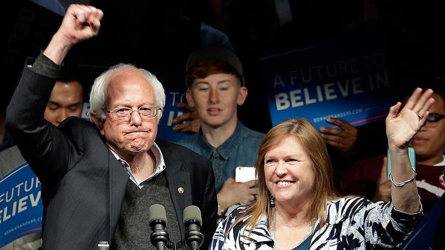 Vermont senator upsets Democratic presidential frontrunner